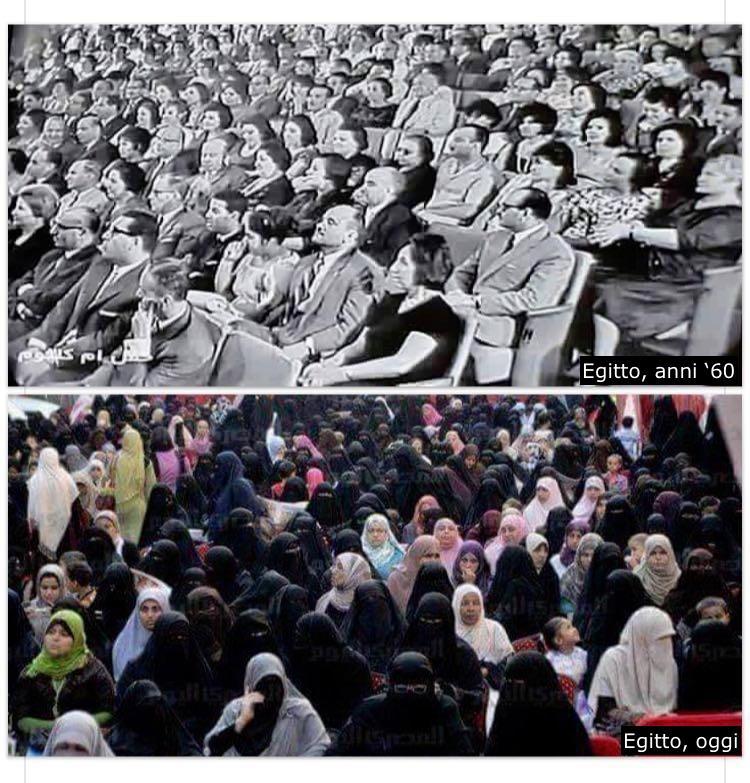 egitto anni 60 prima e dopo