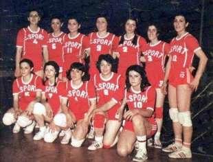Nazionale di pallavvolo iraniana del 1966.