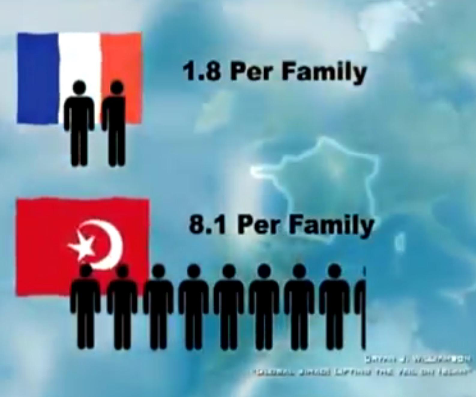 Islamizzazione occidente natalità