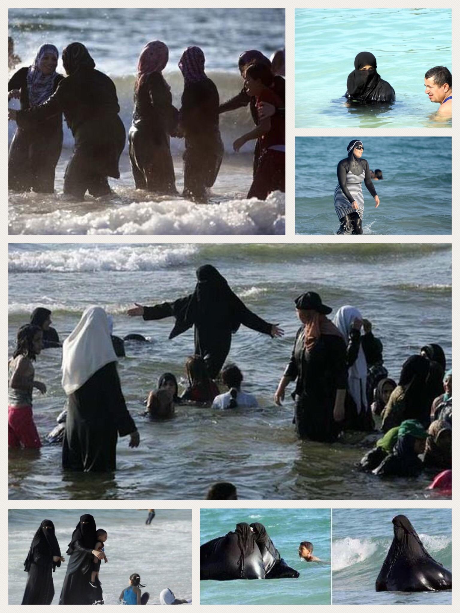 Burqa burkini mare