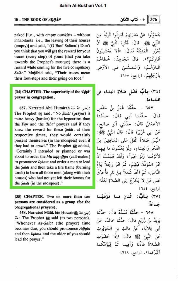 funzione degli imam