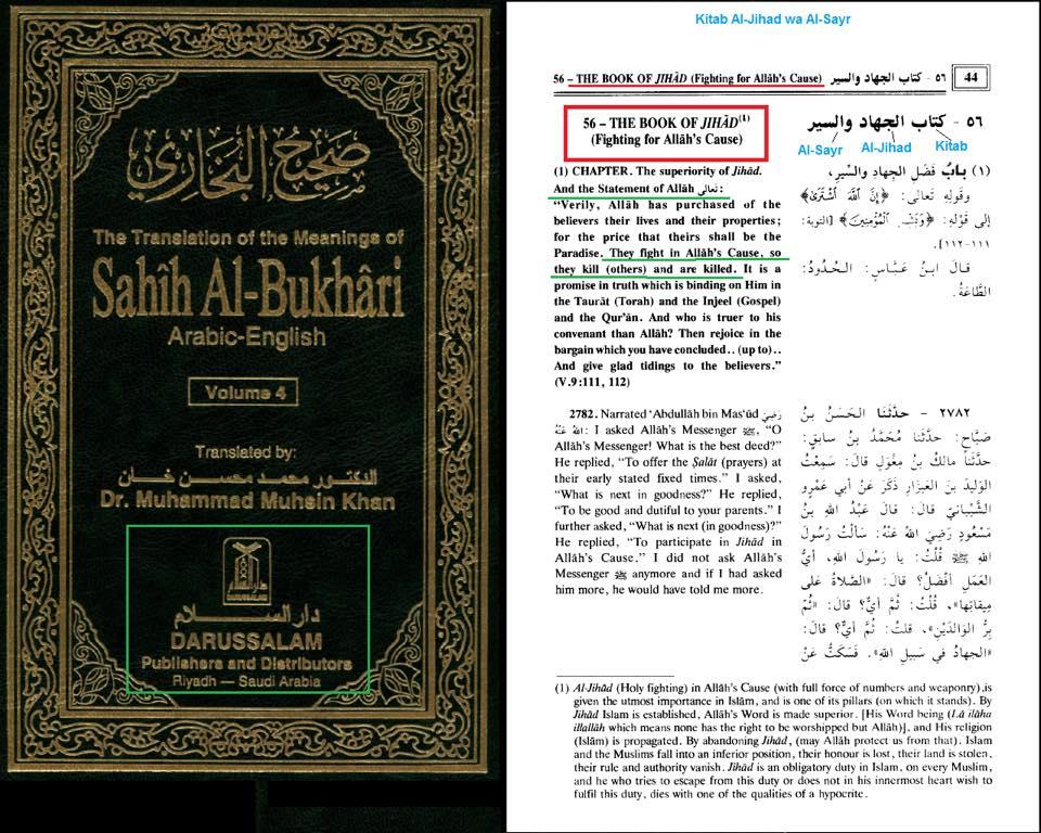 Jihad islamica hadith