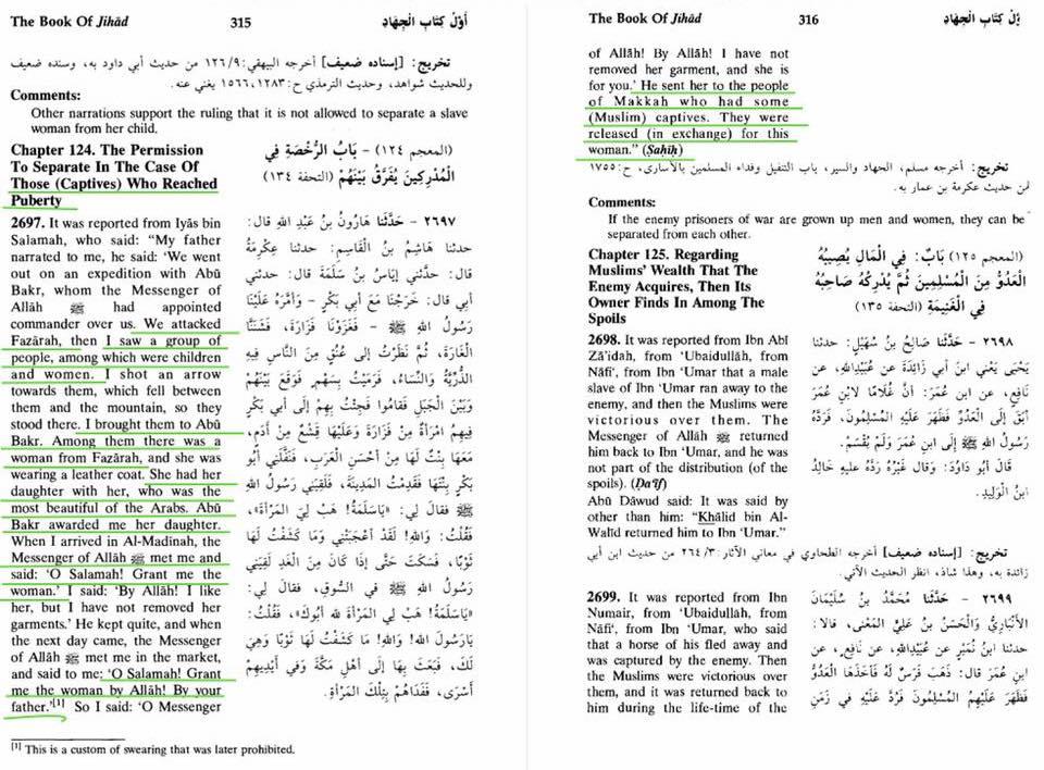 islam figlia schiava