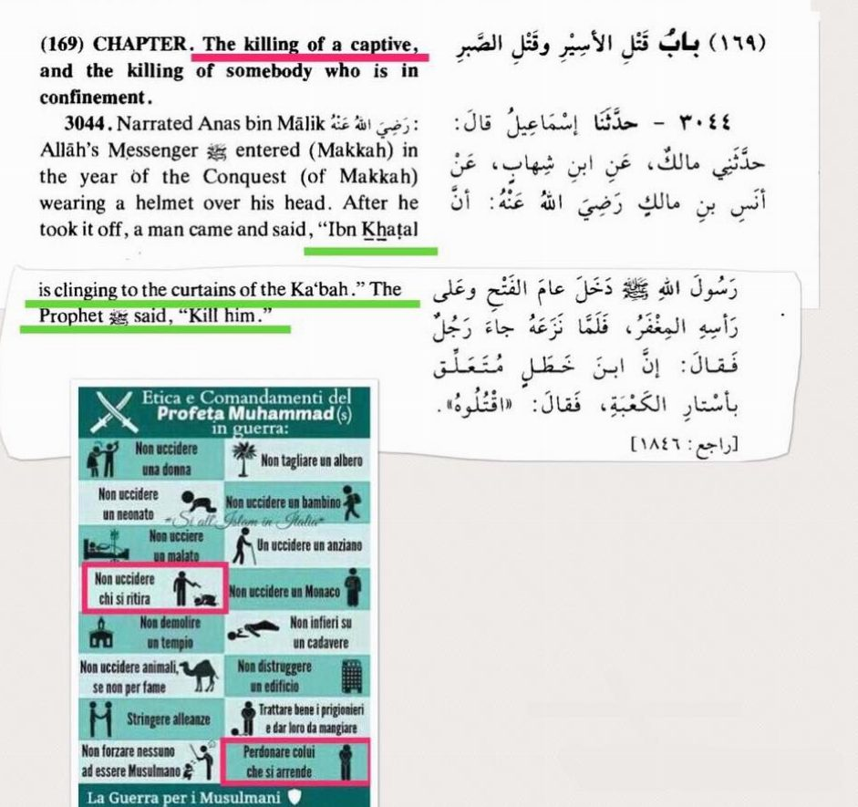jihad mecca maometto uccidere uomo
