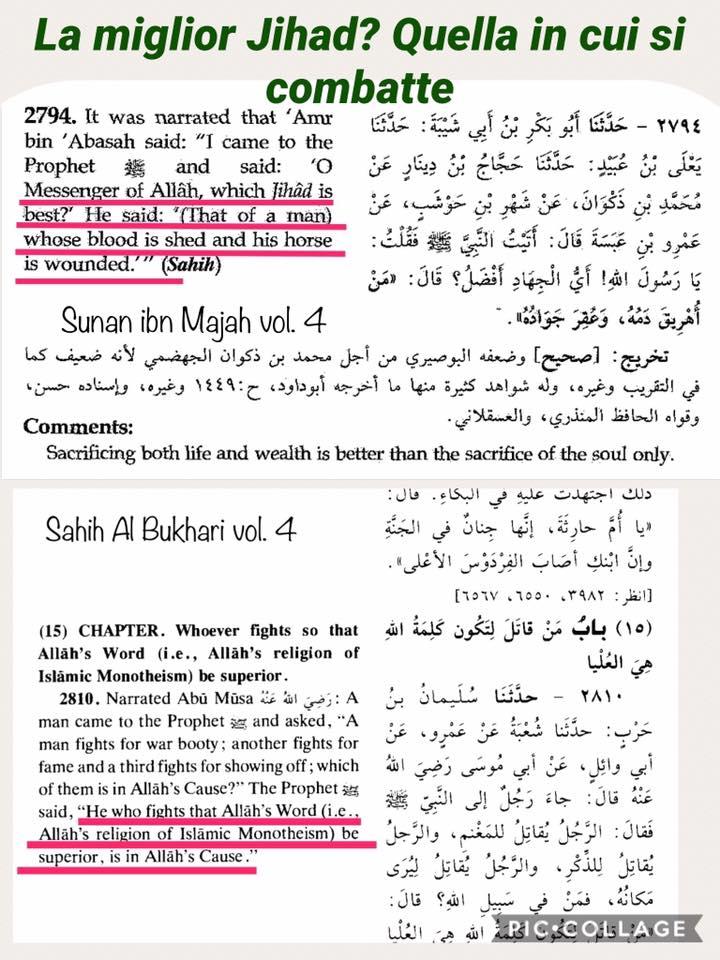 islam migliore jihad