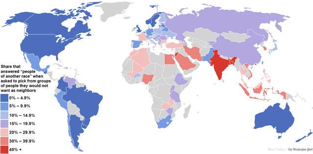 Paesi più razzisti